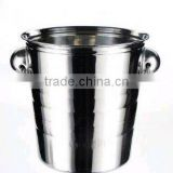Stainless steel ice bucket,champagne cooler