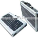15w Portable Solar Charger Case and Solar Briefcase