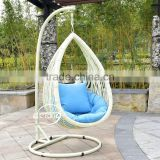 Trade assurance Alibaba leaf design garden patio furniture outdoor hanging swing chairs jhoola garden swing