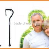 2015 new offset walking stick with PVC handle GWS30027