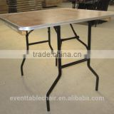 Used Plywood Banquet 6ft round Wooden Folding Tables Wholesale for Banquet party event