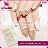 2016 sale fast plastic strip nail decorated nails design online lace paper strip nail