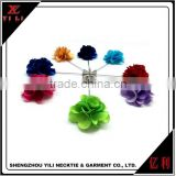 China supplies cheap colorful men shirt decorative flower pins