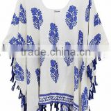 Walson walson Women's Summer Viscose Hand Made Tassel Beachwear Cover-up