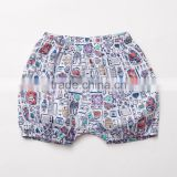 Baby Girls' Essential Fashion Full Lovely Printing Casual Bread Short