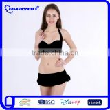 < OEM Service>HOT ! Womens Bikini Swimwear Lace Beach Cover Up, White/ Black Sexy Bathing suit