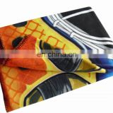 100% Polyester printed fleece blanket