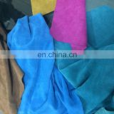 Suede Leather for Shoes/Hand Bag/ Garments/Upholstery