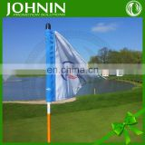 top quality cheap custom promotional flying golf putting green flags