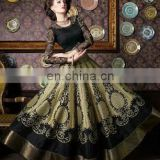 Party wear black beige elegant floral suits for girls and woman
