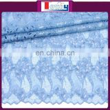 African sequins high quality organza lace fabrics for party dress