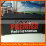 polyester stretch tradeshow table cloth