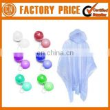 Promotion Logo Custom Cheap Disposable Rain Poncho