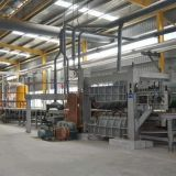 Full automatic particle board production line