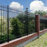 Canada welded ornamental iron homesite fence
