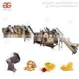 Industrial Frying Equipment Fully Automatic Fresh Frozen French Fries Fryer Production Line Potato Chips Making Machine Price