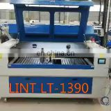 High precision fast speed 60w/80w/100w co2 laser tube equipment 1390 metal laser cutting machine price