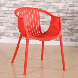 DC-6041 Topwell Modern Design Plastic Chair Dining Chair Round Back Chair
