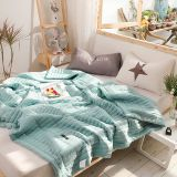 Solid Color Macaron Soft Comfortable summer Quilt Bed Quilt Comforter Washable Bedding Colorful Duvet Summer blanket