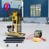 light hydraulic core sampling drill rig YQZ-50A/small diesel power geology exploration drilling machine easy operation