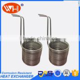 Beer wort chiller , Stainless steel wort chiller