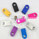 USB flash drive/USB stick computer accessories, most popular cheapest colorful mini swivel USB flash drive