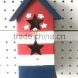 Christmas miniature metal hanger houses/decoration hanger