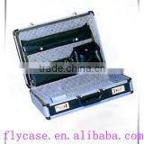 new style Carry-on aluminum briefcase tool box,computer case aluminum metal suitcase for train case