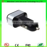 Mini Size High Quality DC 12V-24V Car Charger for Iphone 3Ports Battery Charger for Mobilephones