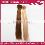 peruvian hair New arrival wholesale price indian human hair 100g remy clip in hair extension