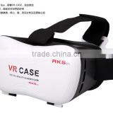3D VR Fifth Generation Virtual Reality Glasses Innovative Design Fit for IOS, Android phones Series within 3.5~6.0 inches