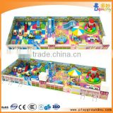 Ocean theme children soft play areas indoor playground equipment kids play system structure