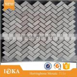 polished wooden marble mosaic tile for decoration                                                                                                         Supplier's Choice