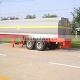 2 axle 20 feet skeletal container semi trailer/ skeleton truck tow semitrailer 40 ton for Angola\Congo