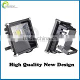 Black housing ultra thin high quality aluminum body led project lamp, 150w led projector lamp