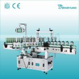 China Guangzhou Shangyu real manufacture full automatic shampoo name label sticker machine