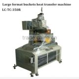 Automatic bucket heat transfer machine for plastic bucket/5 gallon water bottle TC-350R