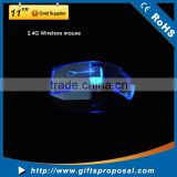 Wholesale Price Transparent Shell with LED Lighting Mouse for Computer