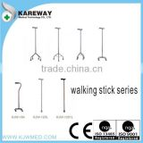 Aluminum alloy elderly walking stick