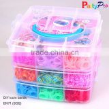 New Design DIY Colorful Cheap Funny Loom Rubber Bands for All Ages