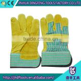 10.5 inches full palm cow split electrical safety gloves