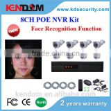High-end High-tech POE NVR Kit 3MP/2MP/1.3MP 8 Channel Security Camera System CCTV with face recognition