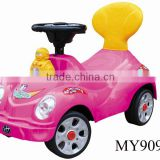 electric Swing baby Car with light & music walker ,baby kids quadricycle