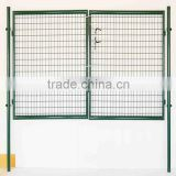 double door garden fence gate