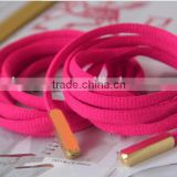Printed logo metal cord tips/metal lace tips /belt metal tips with metal tipping machine / golden aglet for shoelace