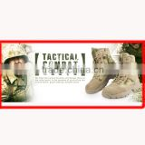 Army hunting desert shoes military boot infantry combat footwear tactical police boots CL29-0039AT-FG