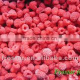 New crop frozen raspberry whole