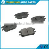 lexus spare parts 04465-48120 front brake pad for lexus rx300 2002 - 2003