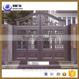 home decorative modern luxury aluminum driveway gate