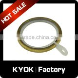 KYOK Plastic Curtain Rod Rings Poles Voile Heading Tape Eyelet,Fly Screen Aluminium Curtain Rods Rings